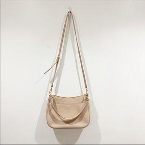 Nordstrom Pink Genuine Leather Crossbody Bag NWT